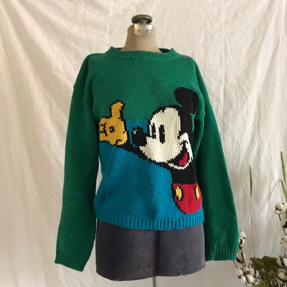 Vintage | Classic | Mickey Mouse | Knit Sweater |
