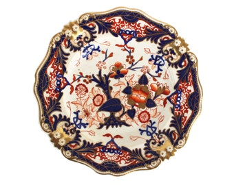 English Antique Imari Plate