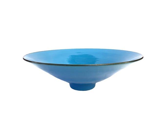 Featured listing image: George Wilson Mid-Century English Blue Studio Pottery Bowl
