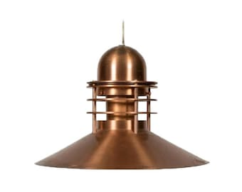 Louis Poulsen Copper Pendant Light