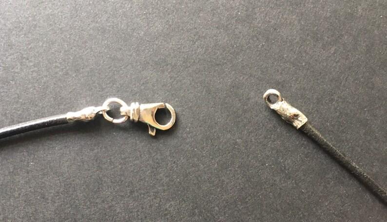 Silver Anchor pendant necklace