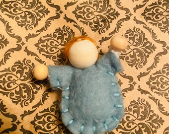 Wool Felt Babies | Modern Polly Pocket