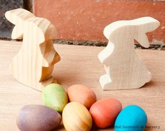 Australian Wooden Bunny   Rabbit   Easter Animal
