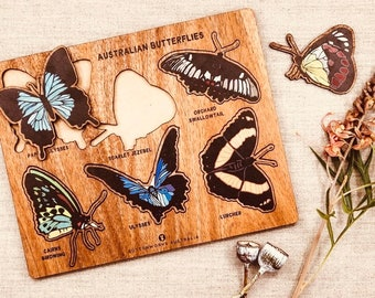 Australian BUTTERFLY Animal Puzzle