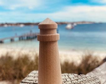 Mini Wooden Lighthouse
