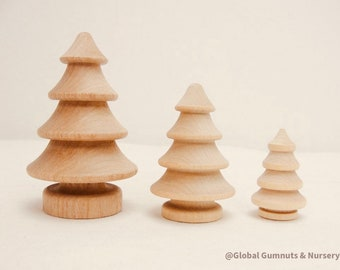 Set of 3 | Wooden Forrest | Christmas Trees | Tree