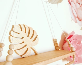 Wooden Shapes - Natural Wood Decor