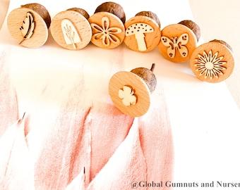 Gumnut Nature Stamps | Forrest Set | 7 pcs