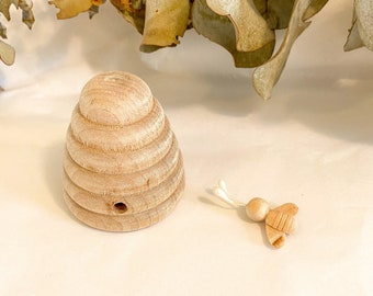 Mini Wooden Beehive (Large)
