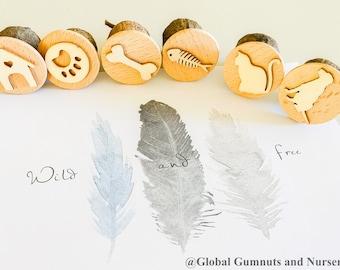 Gumnut Stamps | Pet Animals | 4 pieces