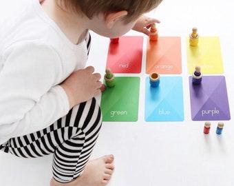 Colours & Shapes Flash Cards
