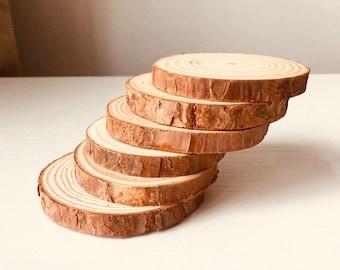Wood Slices 5-6cm
