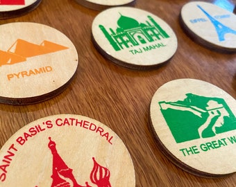 Wooden Disc's - Attractions & World Sights