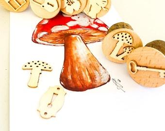 Fairy Set | 6 pcs | Gumnut Nature Stamps