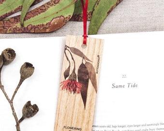 Coloured Flowering Gum Bookmark   Teachers GIFT Bookmark