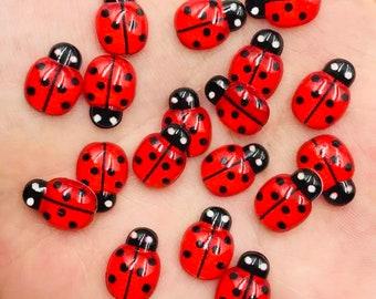 RESIN Ladybirds   Ladybugs