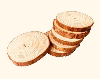 Wood Slices SMALL/MEDIUM 4-5cm