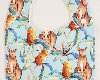 Kangaroo Dudes- Handmade Luxury Quality Bib