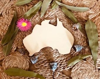 Australia Wooden Plaque