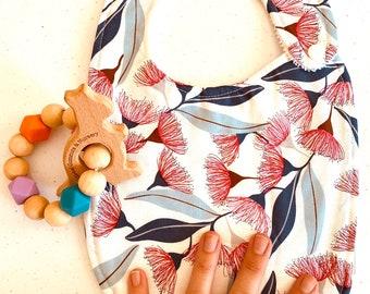 Flowering Gum - Handmade Luxury Quality Bib