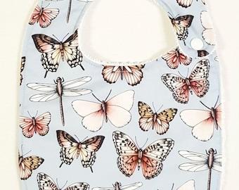 The Butterfly Collection   Aussie Wildlife    - Handmade Luxury Quality Bib