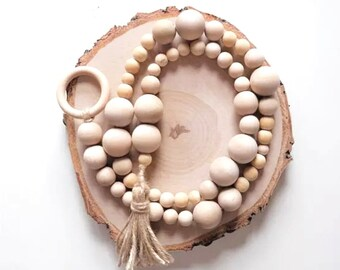 Wooden Bead Garlands