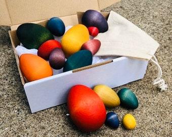 Rainbow Eggs | Wooden Set