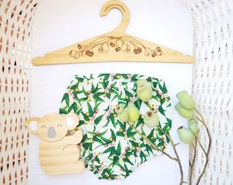 Australian Gumnuts & Eucalyptus Coat Hangers