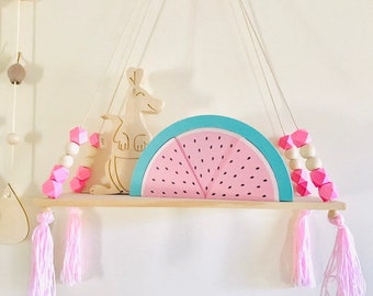 Pink & Raw Wall Shelf