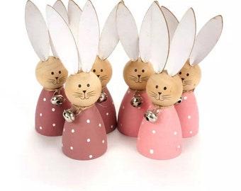 Rabbit Bunny Peg Doll