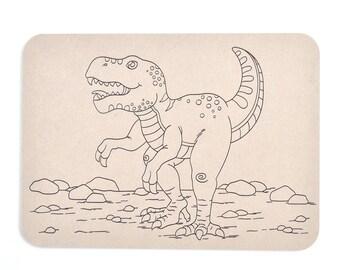 Playdough Boards | Mat | Dinosaur