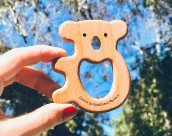 Natural Baby Koala Teether