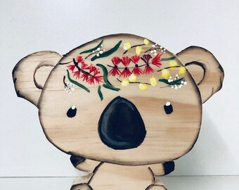Koala Shelfie | Decor | HANDMADE | Australian Theme