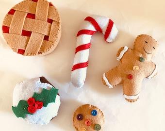 Felt Christmas Set | 5 pieces