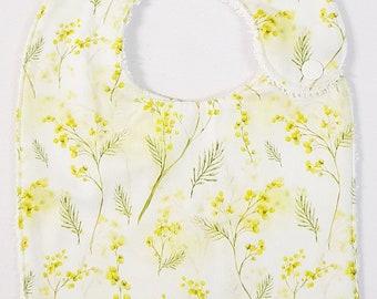 Yellow Wattle Flower- Handmade Luxury Quality Bib