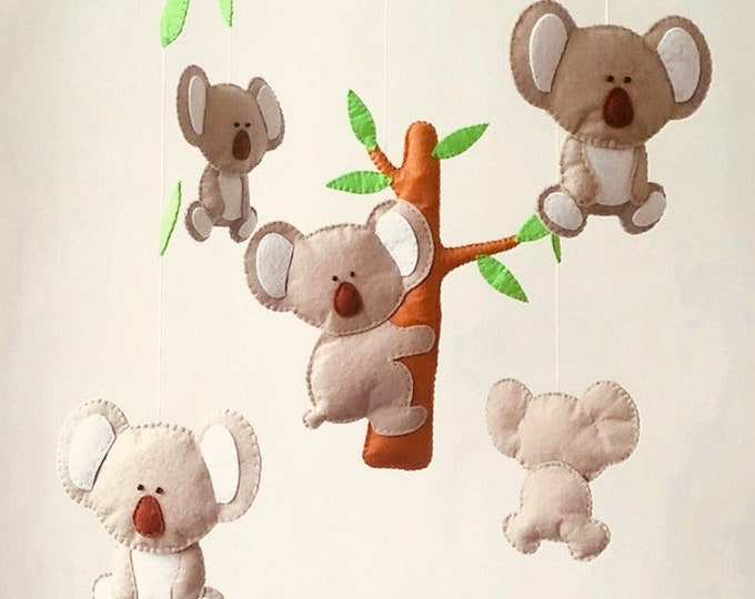 Featured listing image: Australian Themed Koala Nursery Mobile