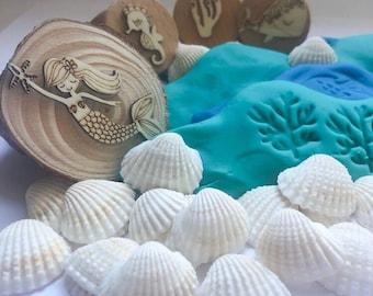Gumnut Nature Stamps | Mermaid Set 7 pieces