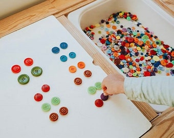 Colorful Button Collection | Loose Parts