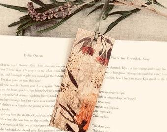 Coloured Wildflower Gum Bookmark   Teachers GIFT Bookmark