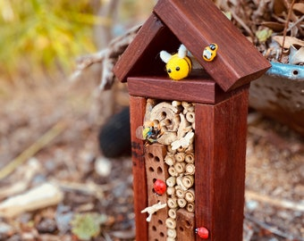 Bee Hotel- Natural Wooden | HANDMADE in Western Australia