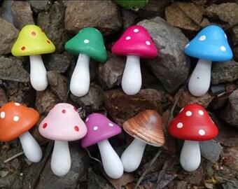 Large Mini Mushrooms
