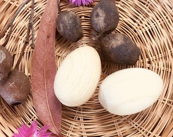 Wooden Egg Shakers - Individual or set of 2