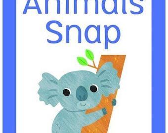 Australian Animals Snap | 52 cards