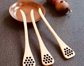 Flat Honey Spoon | Pattern Creater