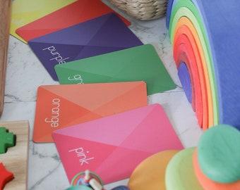 Colours & Shapes Flash Cards   26 pieces
