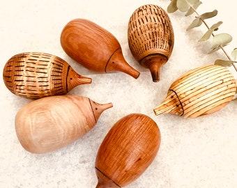 Handmade Wooden Echidna
