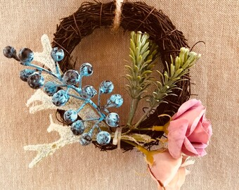Mini Floral Wreath