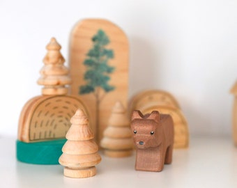 Wooden Forrest | Christmas Trees | Tree