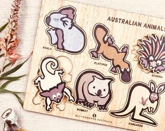 Jolly Australian Animal Puzzle