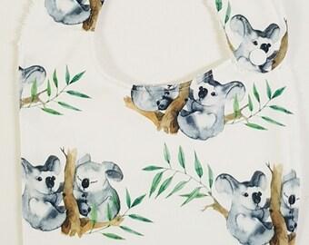 Koala    Australian Eucalyptus - Handmade Luxury Quality Bib